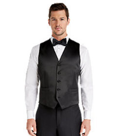 1905 Collection Tailored Fit Tuxedo Separate Vest