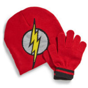 NOLAN Boys' Flash Knit Hat and Gloves Set