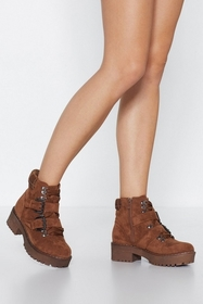 Land On Your Feet Faux Suede Boot