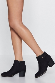 The Sole of the Party Metallic Trim Boot