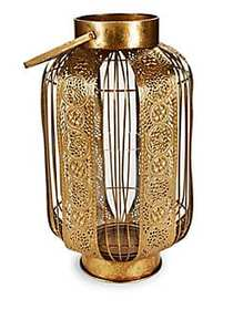 Home Essentials Ornate Cage Candle Holder NO COLOR
