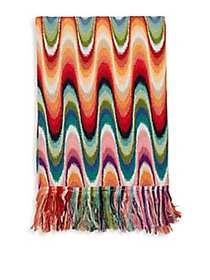 Missoni Home Temperance Fringed Throw MULTI