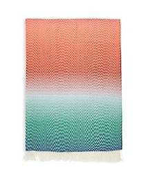 Missoni Home Vladi Ombre Chevron Throw Blanket TUR