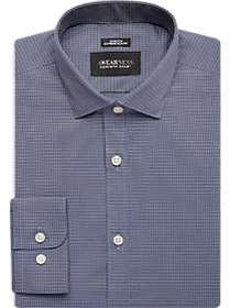 Awearness Kenneth Cole Blue Check Extreme Slim Fit