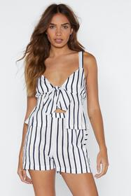 Show Your Stripes Top and Shorts Set