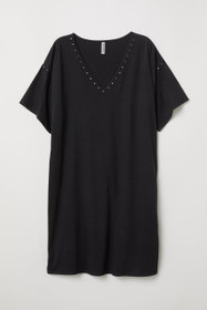 T-shirt Dress with Studs