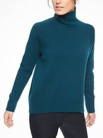 Bedford Wool Cashmere Turtleneck Sweater