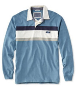 Lakewashed Rugby, Traditional Fit Long-Sleeve Ches