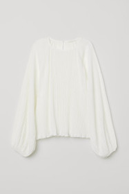 Crinkled Jersey Blouse