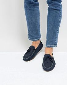 Silver Street Driving Shoes In Navy