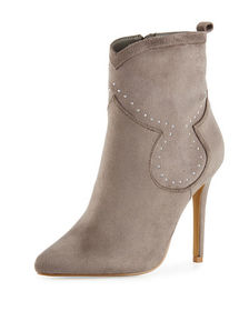 Charles by Charles David Plot Studded Suede Bootie