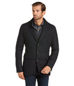1905 Collection Tailored Fit Quilted Blazer - Big