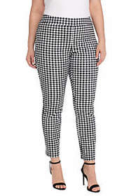 Plus Size Signature Pull-on Ankle Pant in Exact St