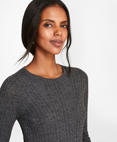Cable-Knit Merino Wool Sweater