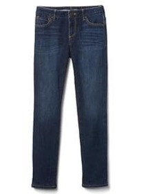 1969 jersey-lined stretch straight jeans