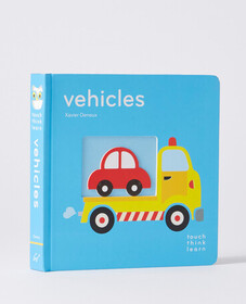 Hanna Andersson TouchThinkLearn: Vehicles