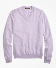 Silk and Cashmere V-Neck Sweater