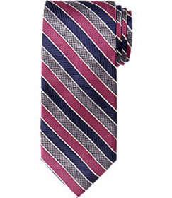 Executive Striped Tie - Long CLEARANCE