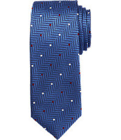 Signature Collection Herringbone Dot Tie CLEARANCE