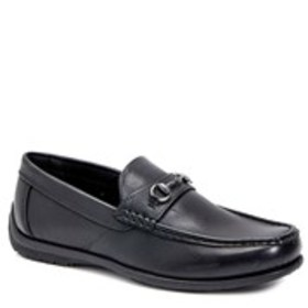 Mens Square Toe Bit Driving Loafers