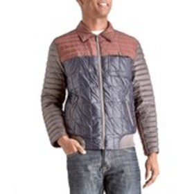 RFT Rainforest Mens Color Block Bomber Jacket with
