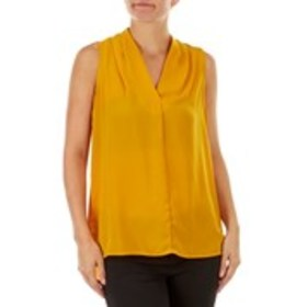 TACERA High Low Pleated Front Top