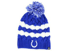 Indianapolis Colts '47 NFL Women's Topsail Pom Kni