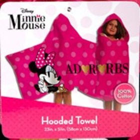 MINNIE MOUSE Minnie Mouse Hooded Towel Wrap