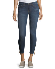 Etienne Marcel Naomi Mid-Rise Skinny Cropped Jeans
