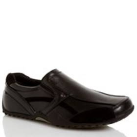 DS WORK Mens Slip-On Work Loafers - Extended Width