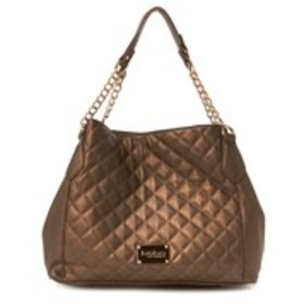 BEBE Bebe Danielle Quilted Triple Entry Tote