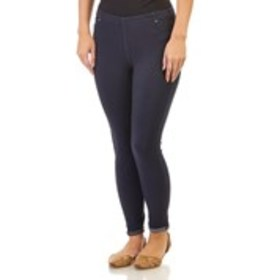ASHLEY BLUE Rolled Cuff Jeggings