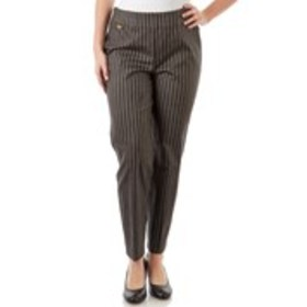 Striped Career Pants