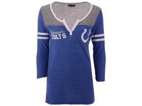 Indianapolis Colts 5th & Ocean NFL Women's Notch N