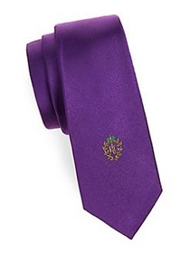 Lauren Ralph Lauren Boy's Textured Slim Silk Tie P