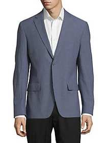 Calvin Klein Extra Slim-Fit Seersucker Suit Jacket