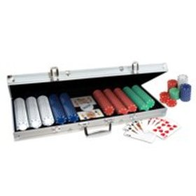 ProPoker 500 Poker Chip Set with Aluminum Case, 2