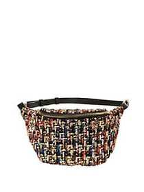 Betsey Johnson Plaid Get Waisted Fanny Pack MULTI