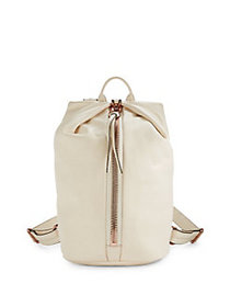 Aimee Kestenberg Tamitha Leather Backpack VANILLA