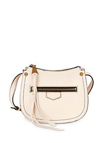 Aimee Kestenberg Mini Leather Shoulder Bag VANILLA