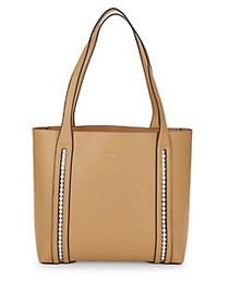 Karl Lagerfeld Paris Finoola Leather Tote CAMEL