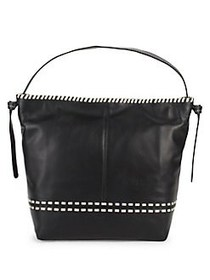 Cole Haan Brynn Leather Shoulder Bag BLACK
