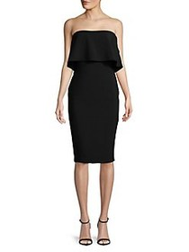 Likely Driggs Strapless Dress BLACK