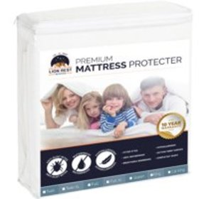 Lion Rest Twin Size Fitted Mattress Protector Fitt