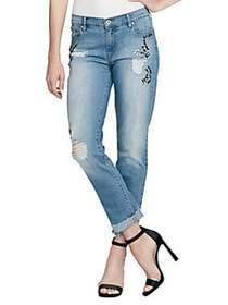 Jessica Simpson Mika Embellished Jeans FOWLER
