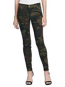Jessica Simpson Kiss Me Camouflage Jeans GREEN