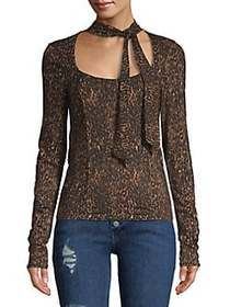 Free People Wild Thing Long-Sleeve Top COPPER
