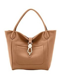 Dooney & Bourke Belvedere Leather Tote SAND