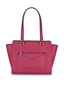 Karl Lagerfeld Paris Vicky Wing Tote BERRY