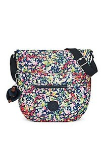 Kipling Bailey Printed Saddle Bag SWEET BOUQUET